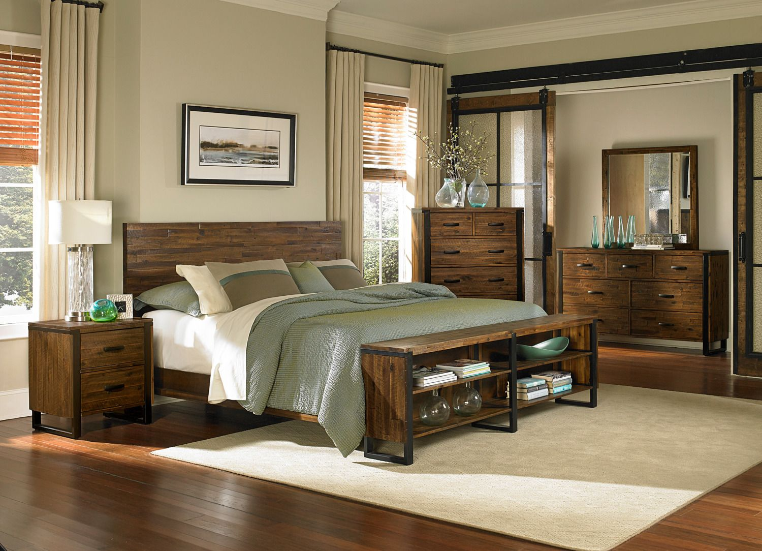 The Rainier Collection  Levin Furniture  Furniture, Panel bed
