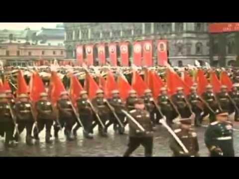 Парад победы 1945( под песню День Победы) - YouTube