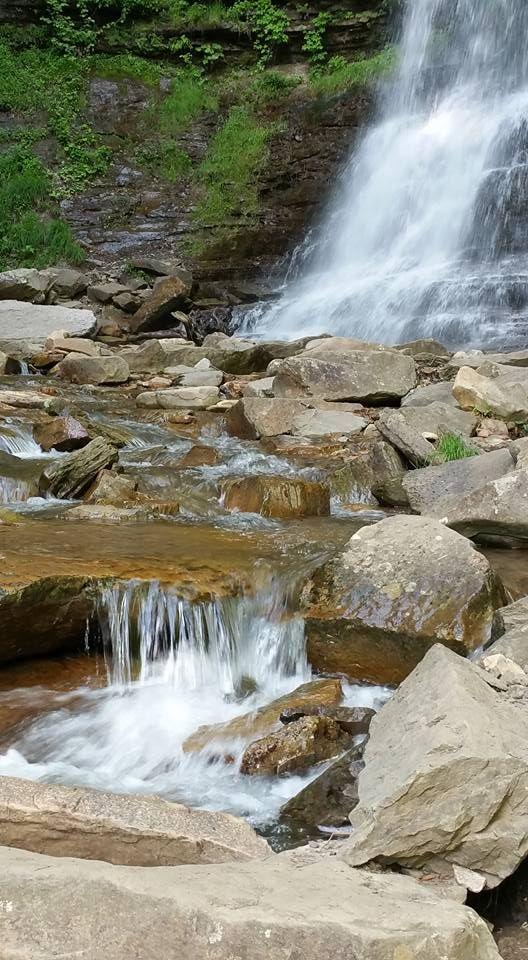 Gauley Waterfall at Gauley Bridge, WV taken in May 2016