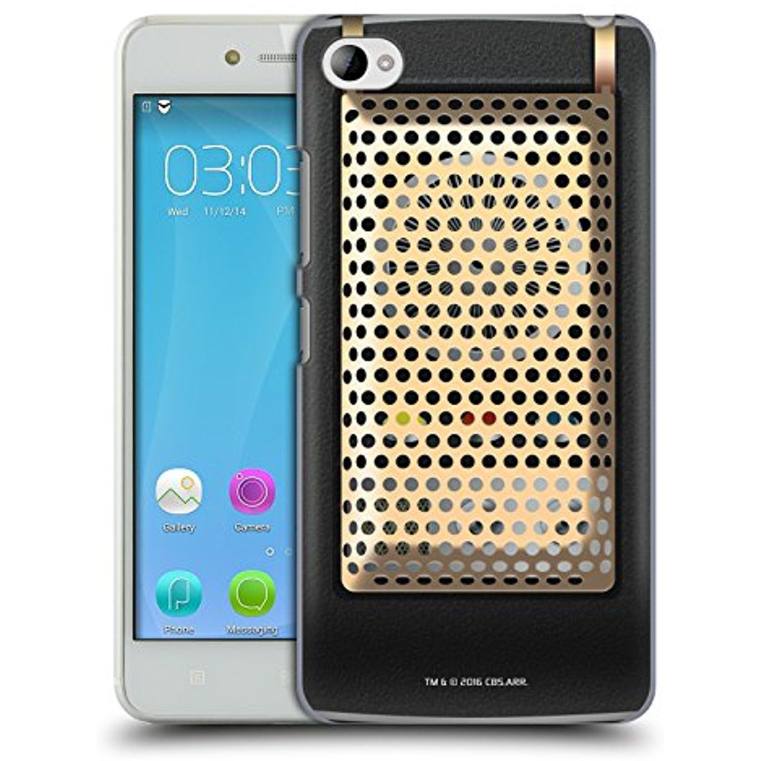 Official Star Trek Communicator Closed Gadgets Hard Back Case For Lenovo S 90 S90 Sisley Click