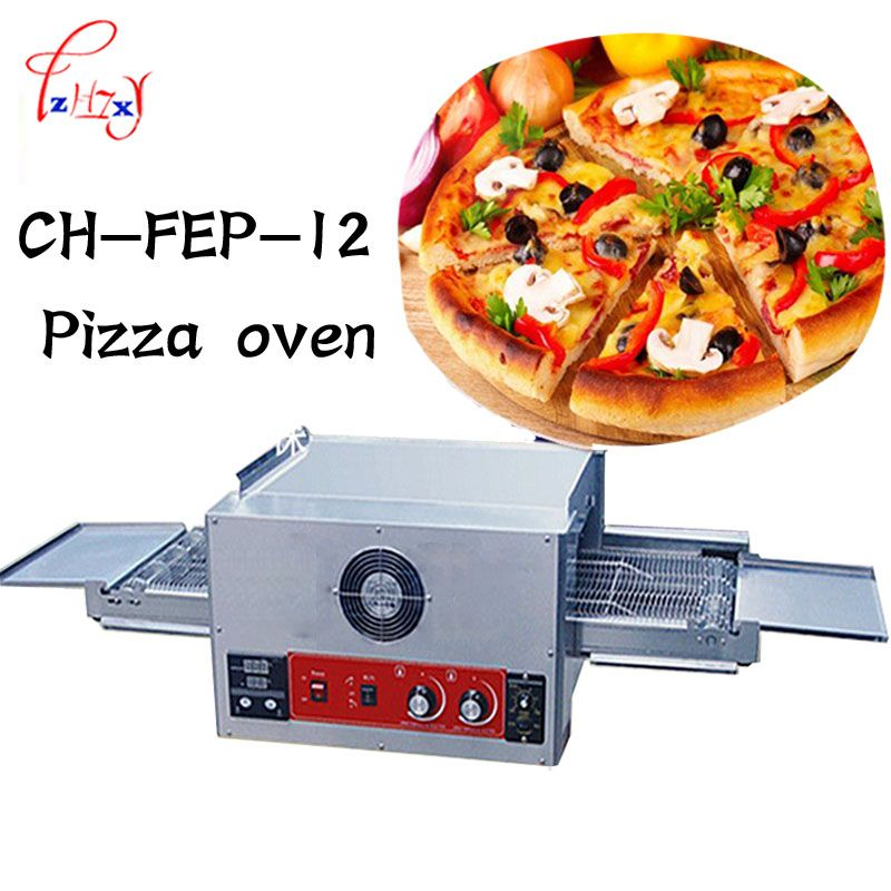 Commercial Pizza Oven Electric Baking Oven Bake Large Dispenser Cake Bread Pizza Oven 12 Chain 220 V 6700 W 1 Pcs Home Appliances Pizza Store Appliances