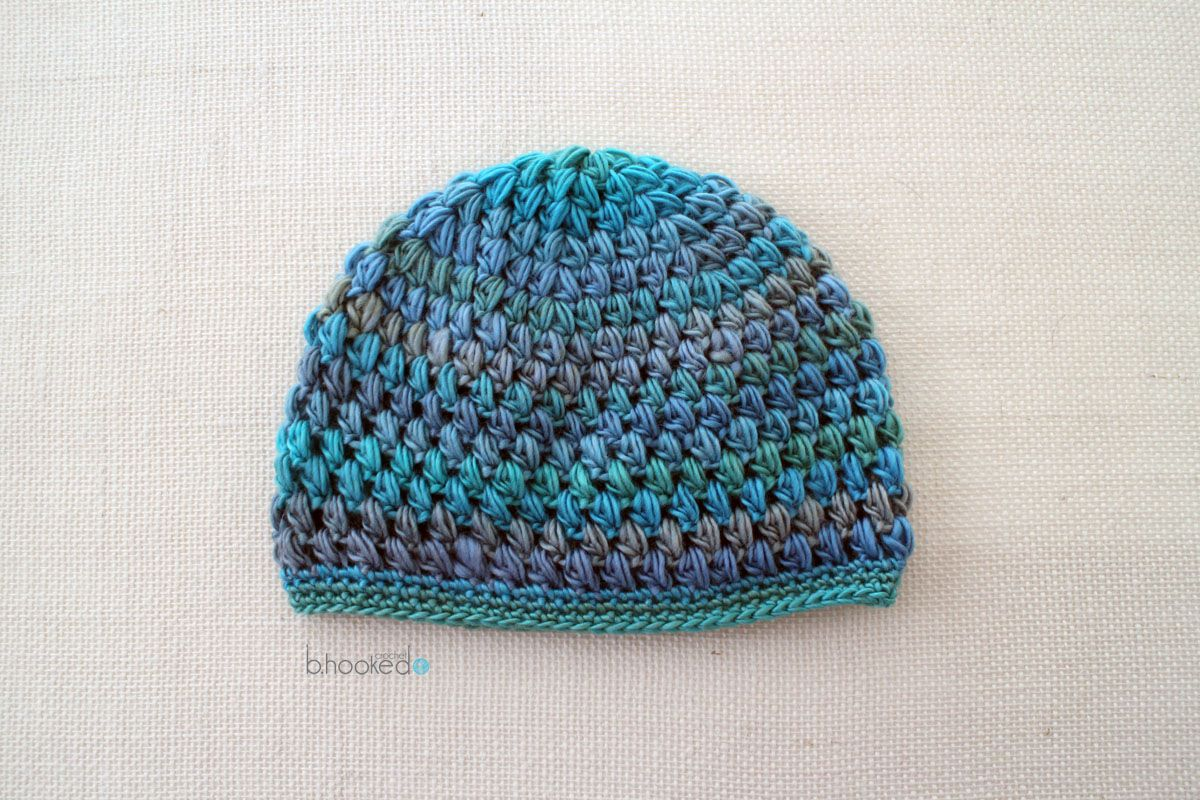 Crochet Puff Stitch Hat: Infant and Toddler Sizes   Ganchillo, Bebé ...
