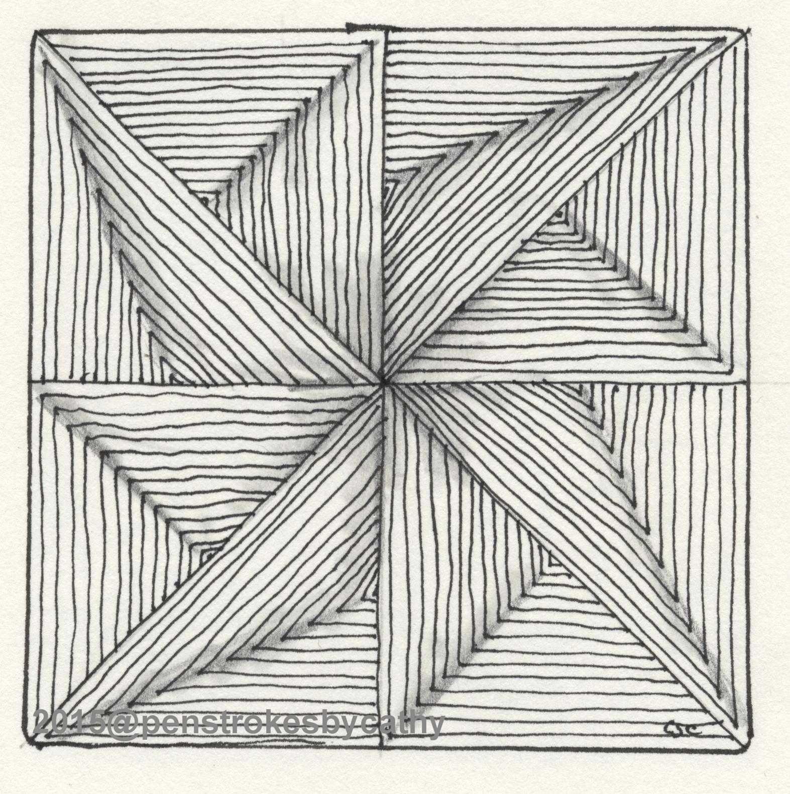 Sept 2 Maryhill Art Drawings Simple Geometric Art Zentangle Drawings
