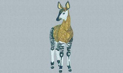 digitized #okapi - true flat rate embroidery digitizing - prices...