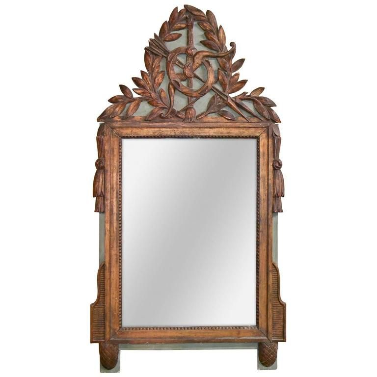 19th Century Italian Carved Mirror