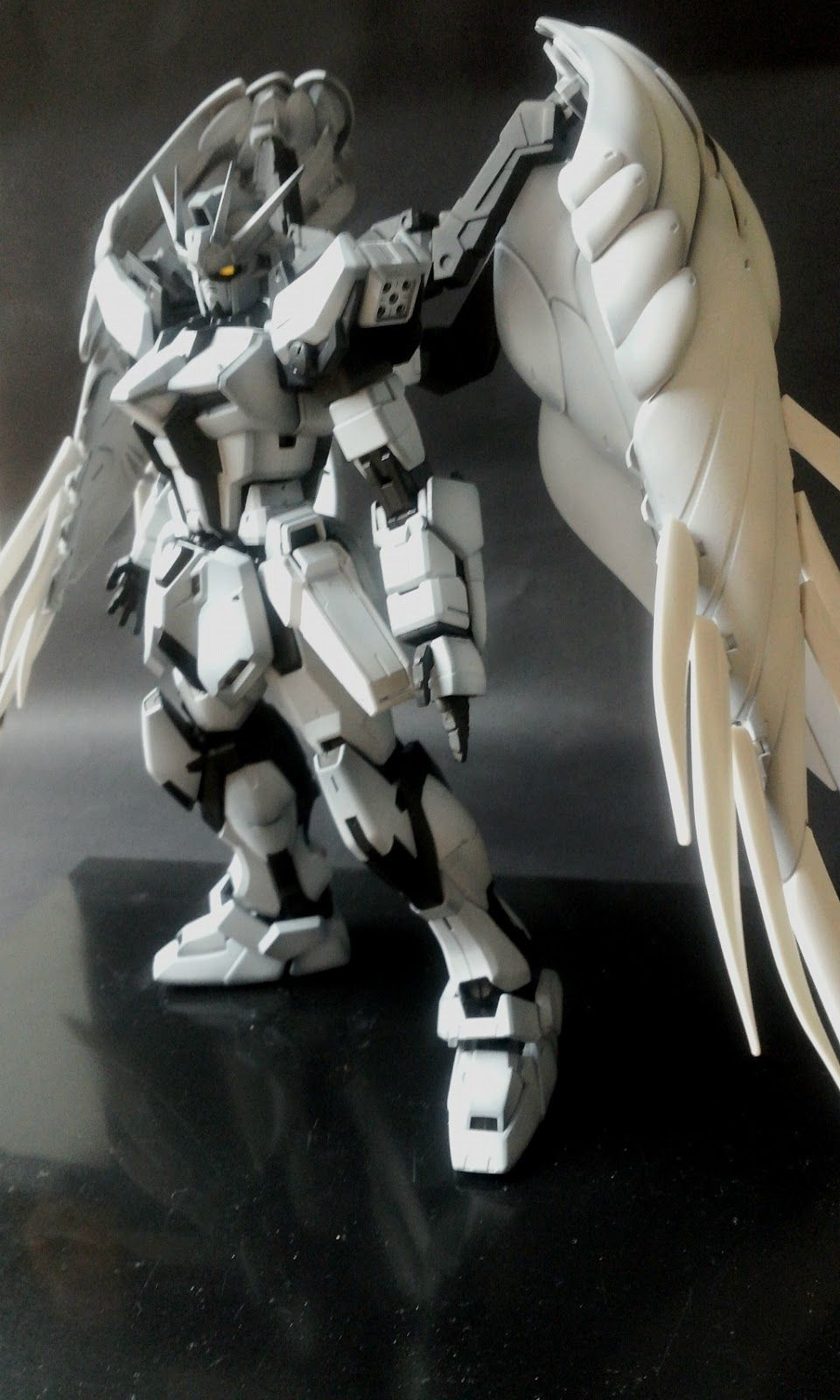 Custom Build: 1/100 Wing Gundam Striker - Gundam Kits Collection News and Reviews