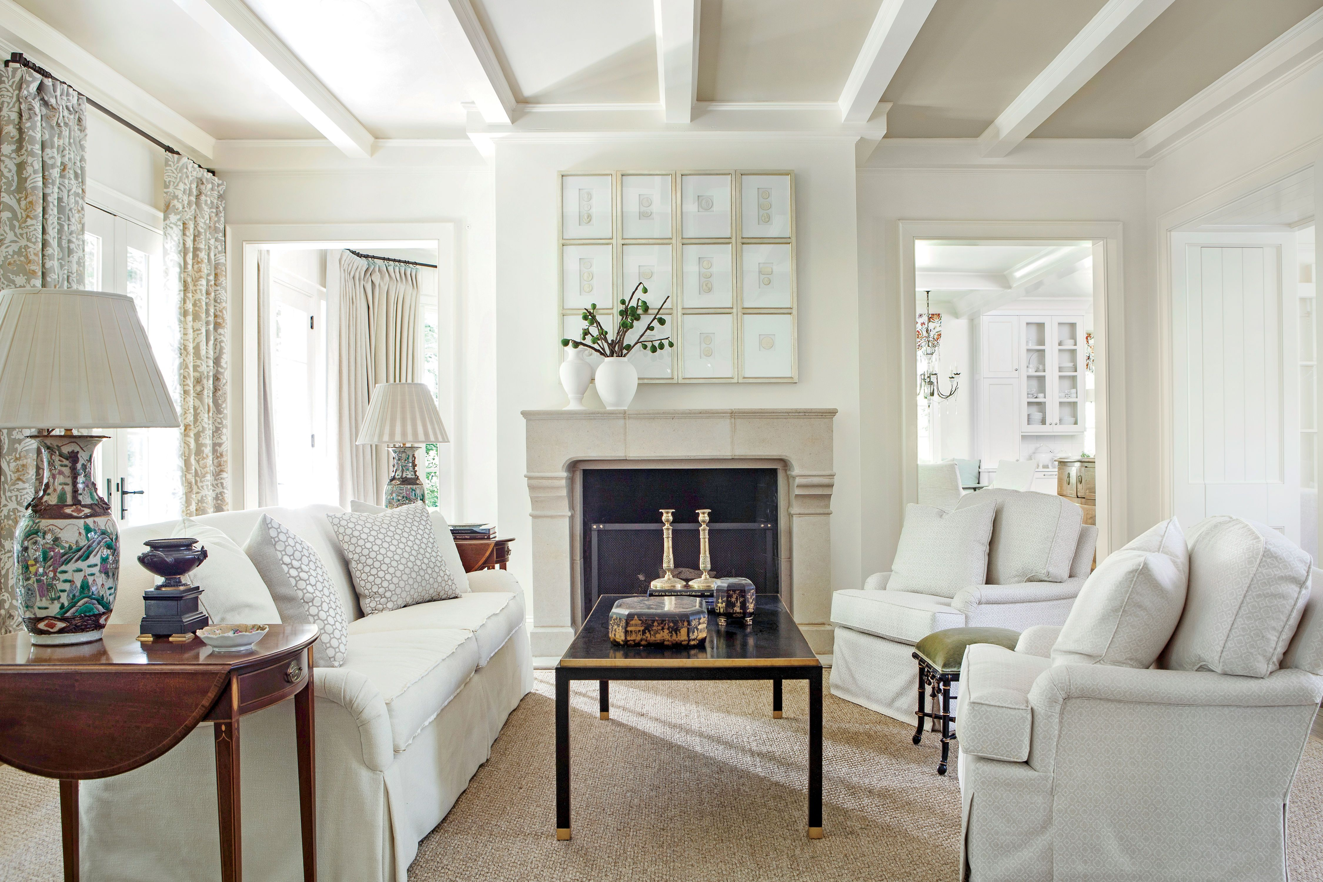 Lighten Up the Living Room | Casual elegance, Living rooms and Room