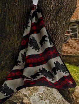 Cabin Fever Bear Camp 60x80 inch Blanket * For more information, visit image affiliate link Amazon.com