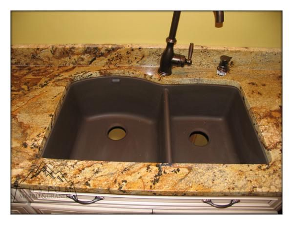 Golden Crystal Granite Pictures Golden Crystal Granite Blanco Composite Sink House