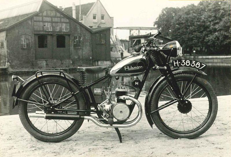 Old Hulsmann Motor Bike Vintage Bikes Old Bikes Vintage Motorcycles