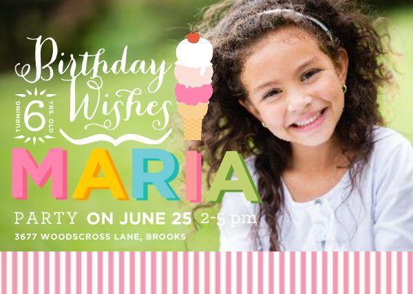 Birthday Wishes TEMPLATE 123566 By Anna Gehmlich Bates 5 x 7 - birthday wish template