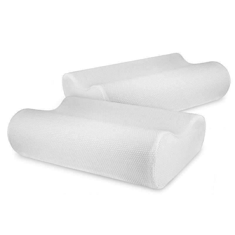 Sensorpedic Classic Contour 2 Pack Memory Foam Pillow Foam Pillows Memory Foam Beds Memory Foam Pillow Sensorpedic memory foam pillow