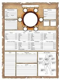 D D Character Sheet Graphic Design Google Search Character