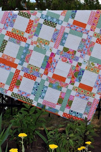 Grandma Mary's Five Patch Quilt Pattern SJ-005e $9.00 Sweet Jane's Quilting and Design