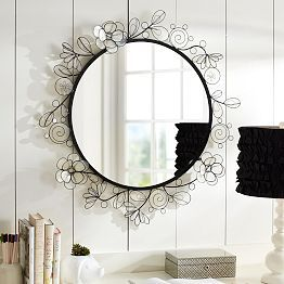 Mirrors Wall Mirrors Decorative Wall Mirrors Pbteen Mirror