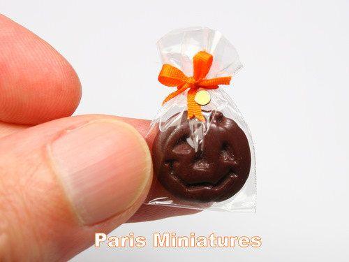 Calabaza de chocolate para Halloween ♡ ♡