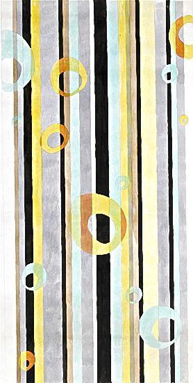 Marjorie Hayes (1913-2005) - Fabric Design, mid 1930's - Watercolor