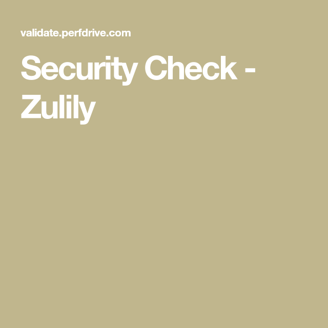 cafd84c75a5c Security Check - Zulily