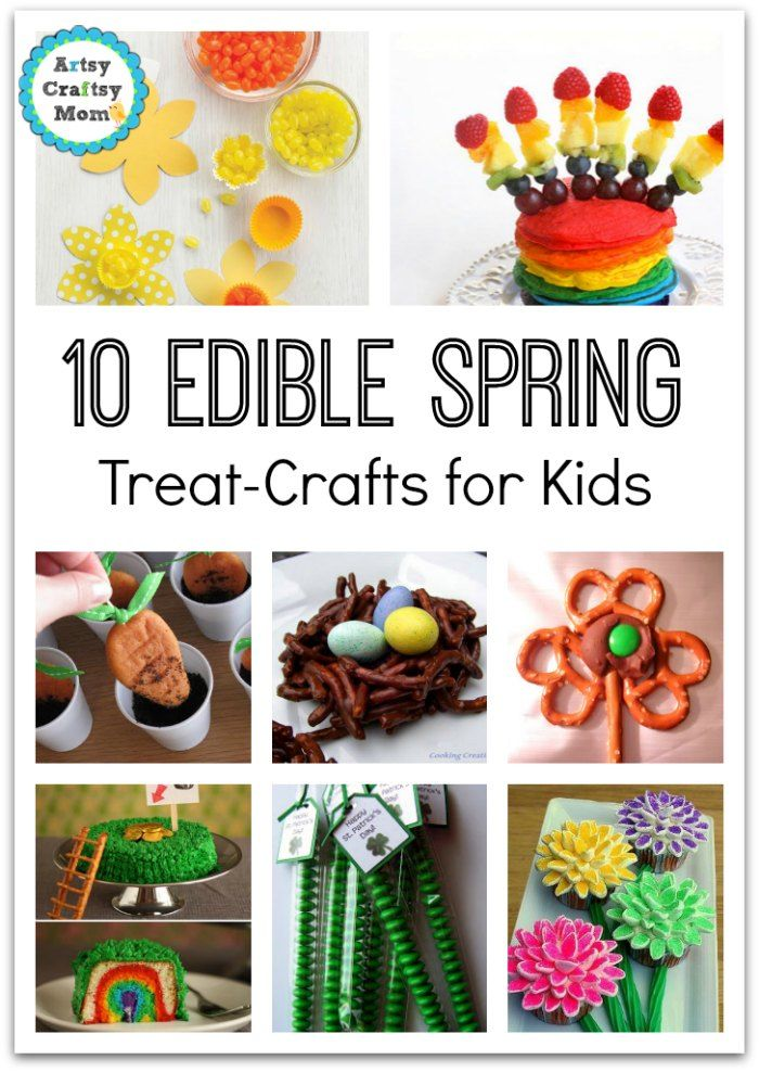 72 Fun Easy Spring Crafts For Kids Spring Crafts For Kids