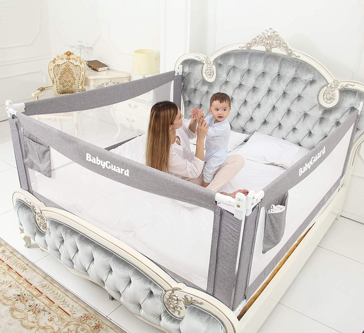 Baby Guard I Bed Rails For Toddlers Infants Bed Rails For Toddlers King Bed Mattress Baby Bed Guard rail for toddler beds