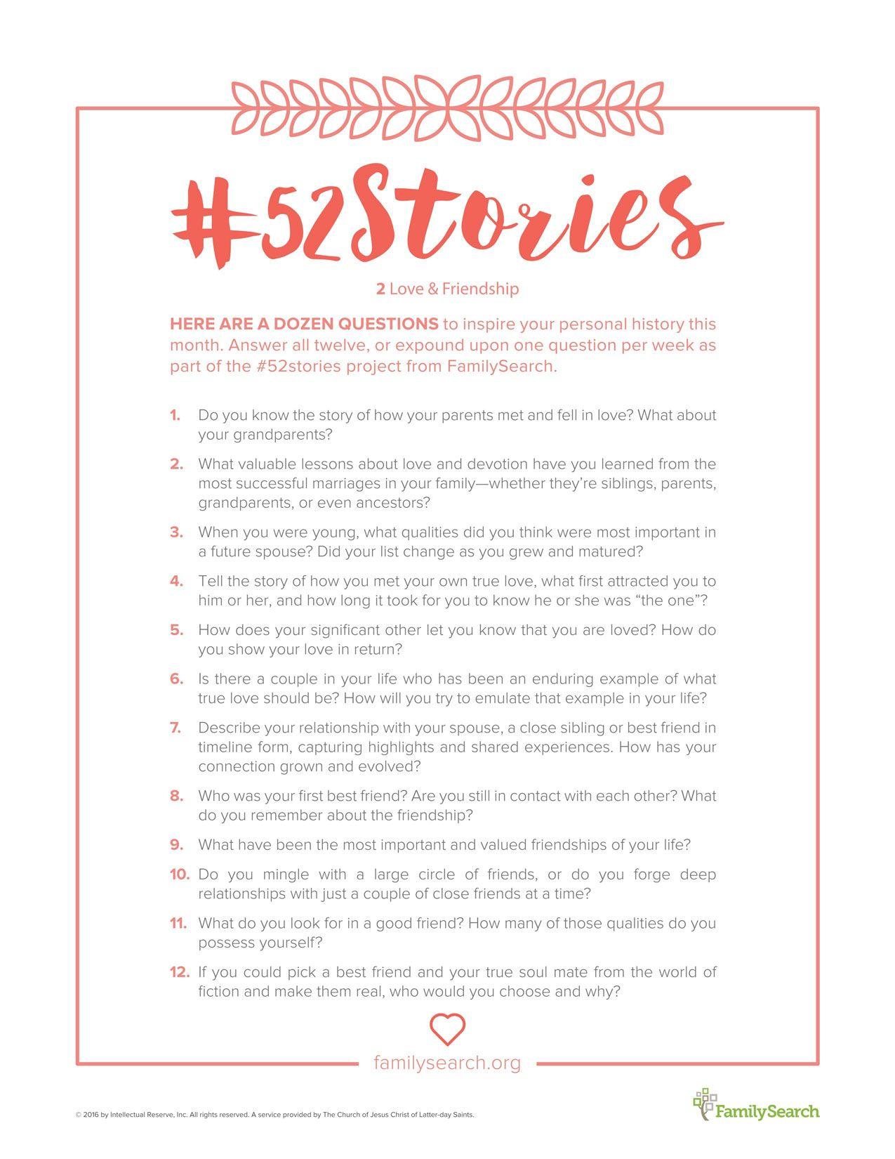 52stories Printables