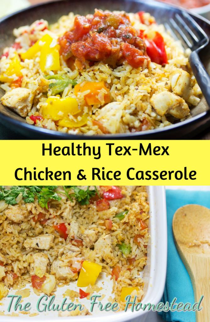 Tex-Mex recipe   Chicken and Rice Casserole   gluten free recipe   paleo recipe  