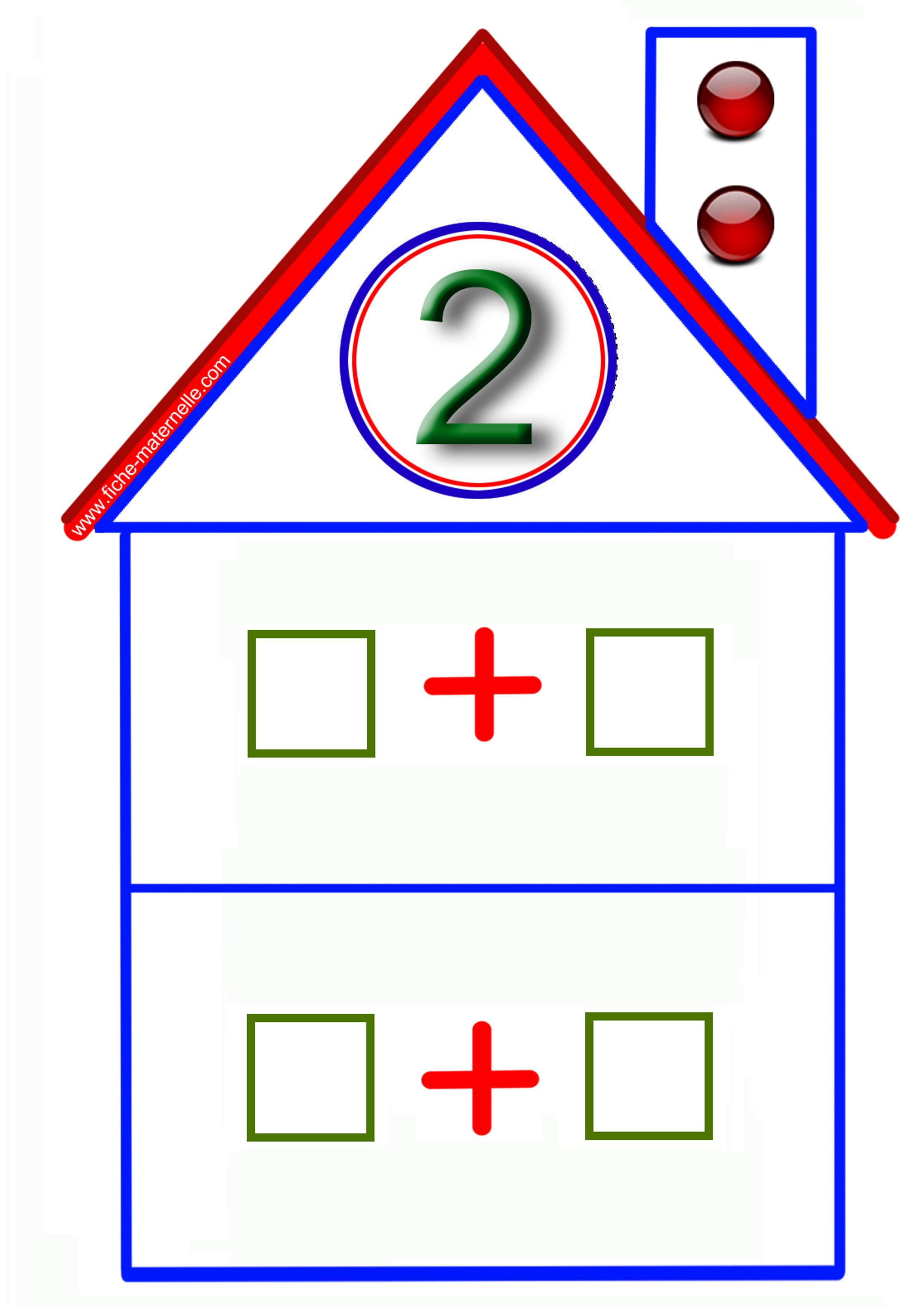 Спокойной ночи, картинка числовые домики для детей для занятия по математике