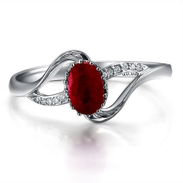 Ruby And Diamond Engagement Ring Ringolog White Gold For Your Woman 600x600