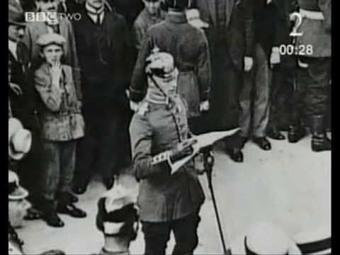 Enlisting for WW1 - YouTube video