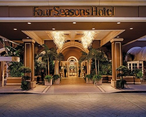 Top 10 Most Expensive Hotels In The World Los Angeles Hotels Four Seasons Hotel Luxury Hotel