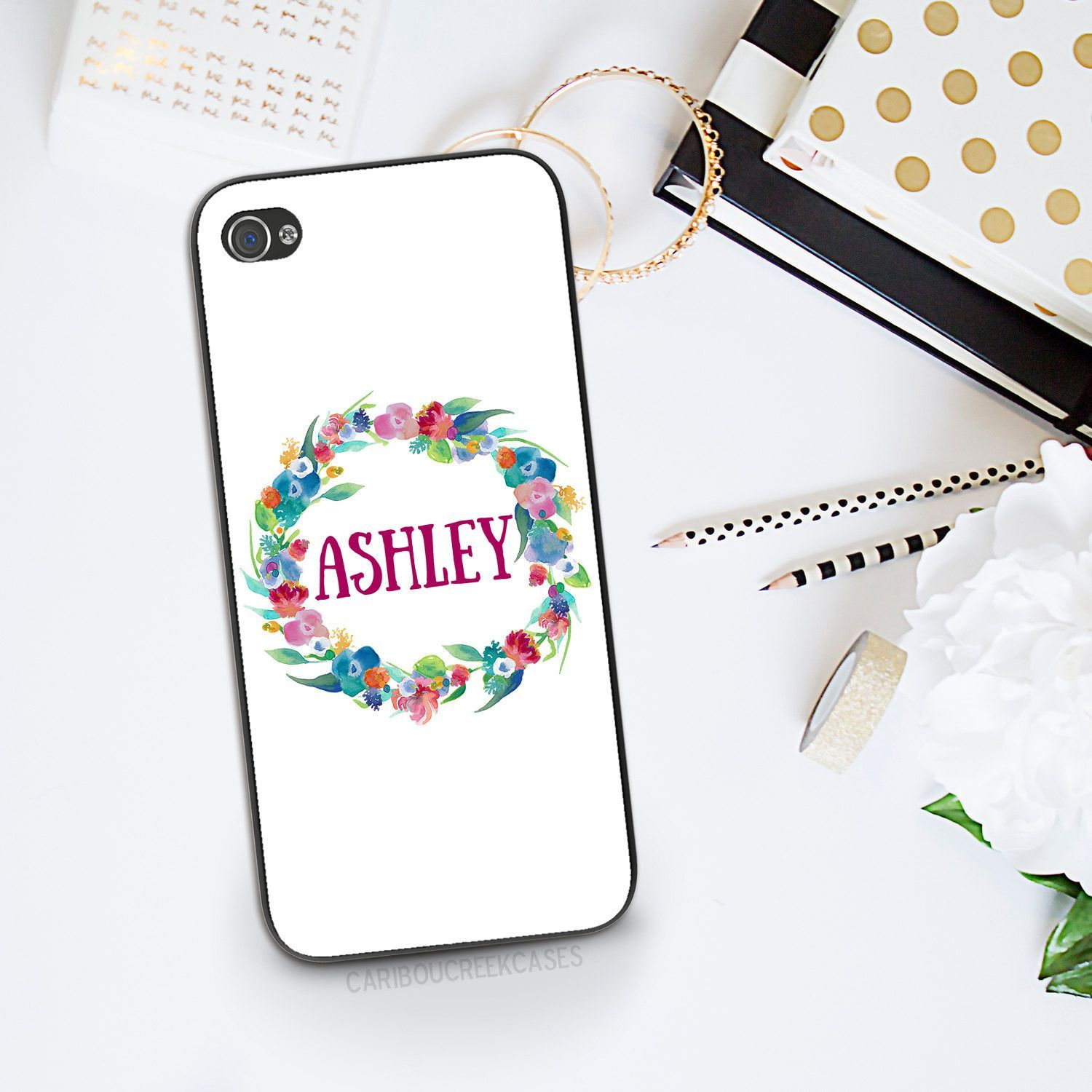 Floral iphone 6s phone case personalized phone case
