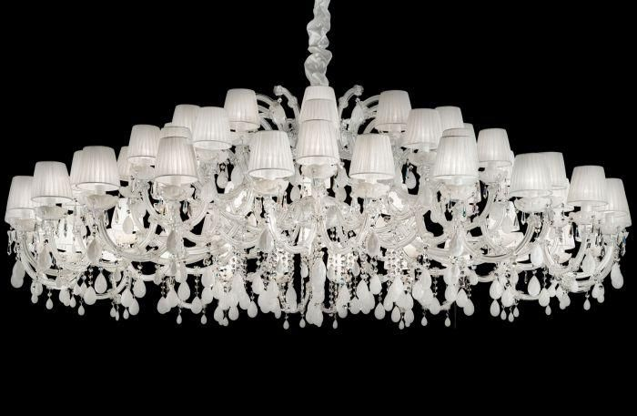 Large White Chandelier Italian Lighting Centre Living
