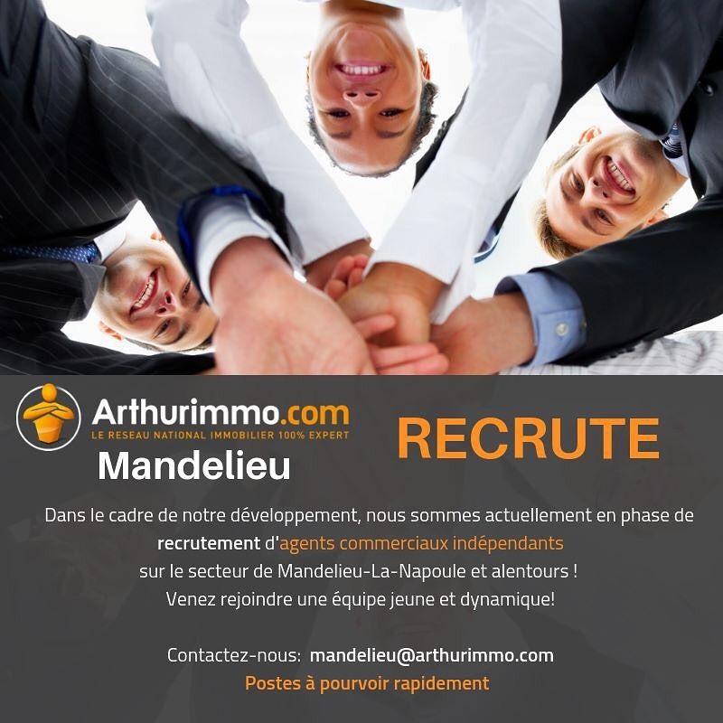 L Agence Arthurimmo Com Mandelieu Recrute Agent Immobilier Immobilier Agence Immobiliere