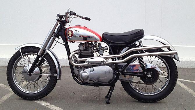 1959 Bsa Spitfire Scrambler Twin High Pipes Mecum Auctions Classic Motorcycles Scrambler Bsa Motorcycle