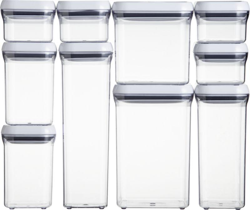 Oxo 10 Piece Storage Containers - Dimarlinperez com -