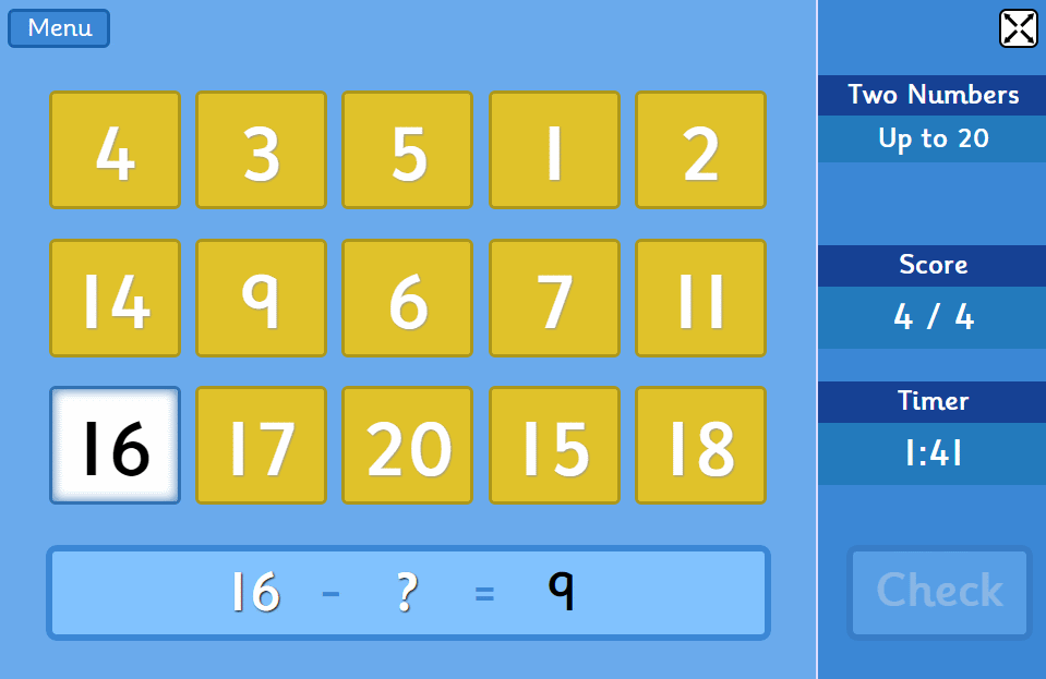 Subtraction Grids Try This Free Learning Game For 6 To 11 Year