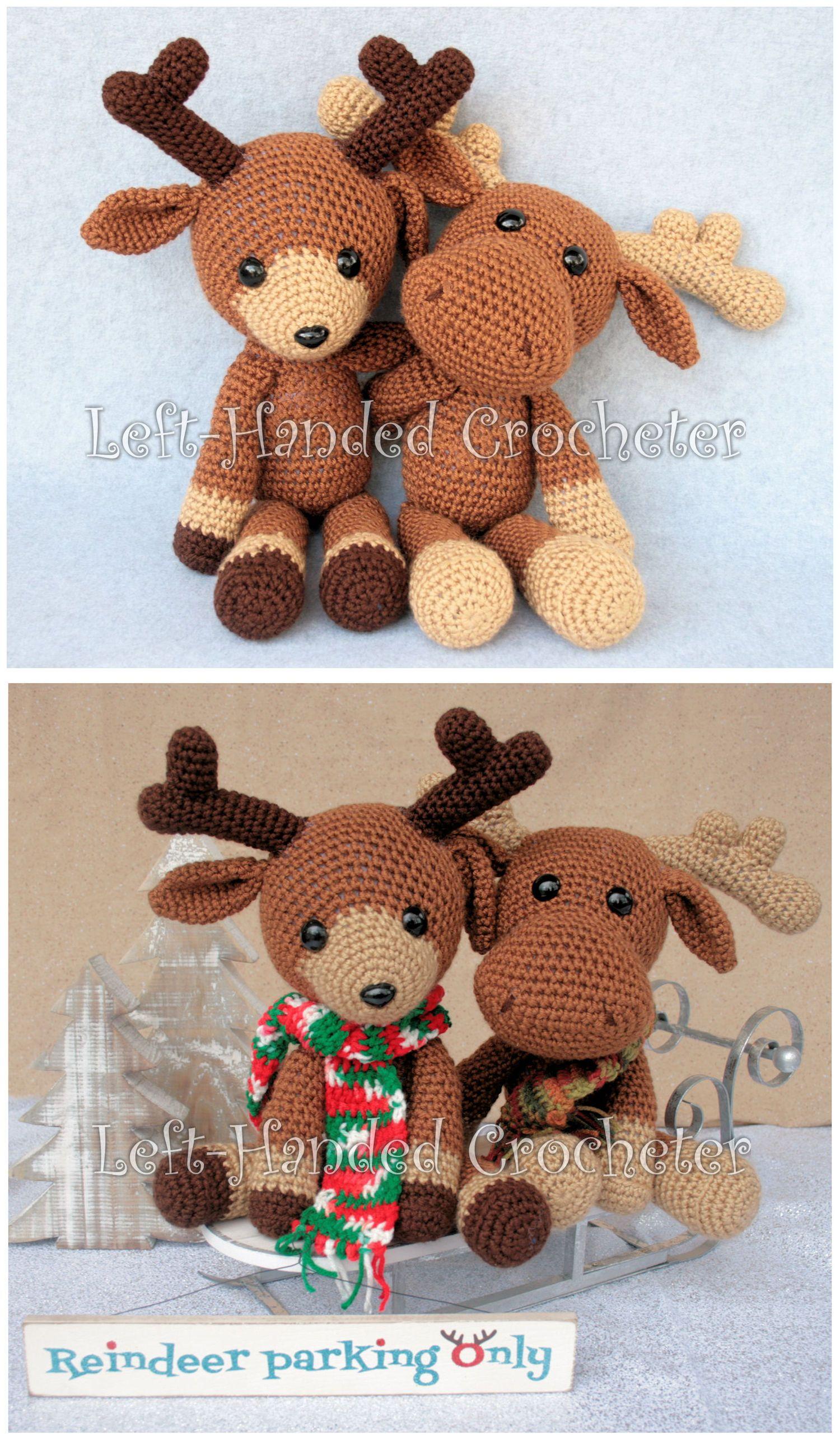 Randall the Reindeer | amigurumis | Pinterest | Navidad