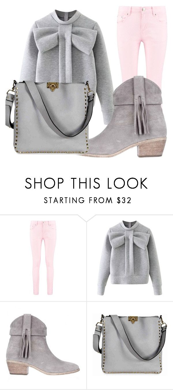 """""""Cozy Fashion"""" by nicollehart on Polyvore featuring moda, Boohoo, WithChic, Joie y Valentino"""