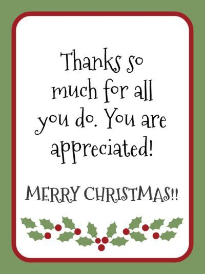 Thanks For All You Do Gift Tags 001 Merry Christmas Gift Tags Christmas Gift Tags Printable Employee Christmas Gifts