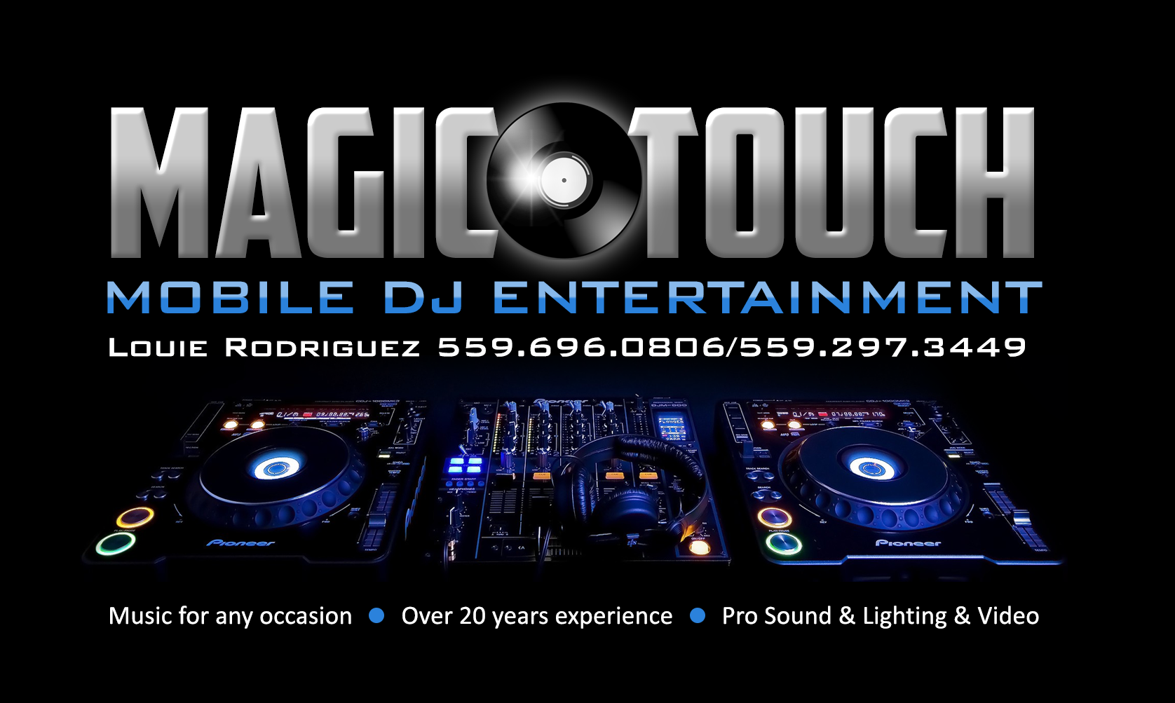 I make business cards also.. here is one for a local DJ in the ...