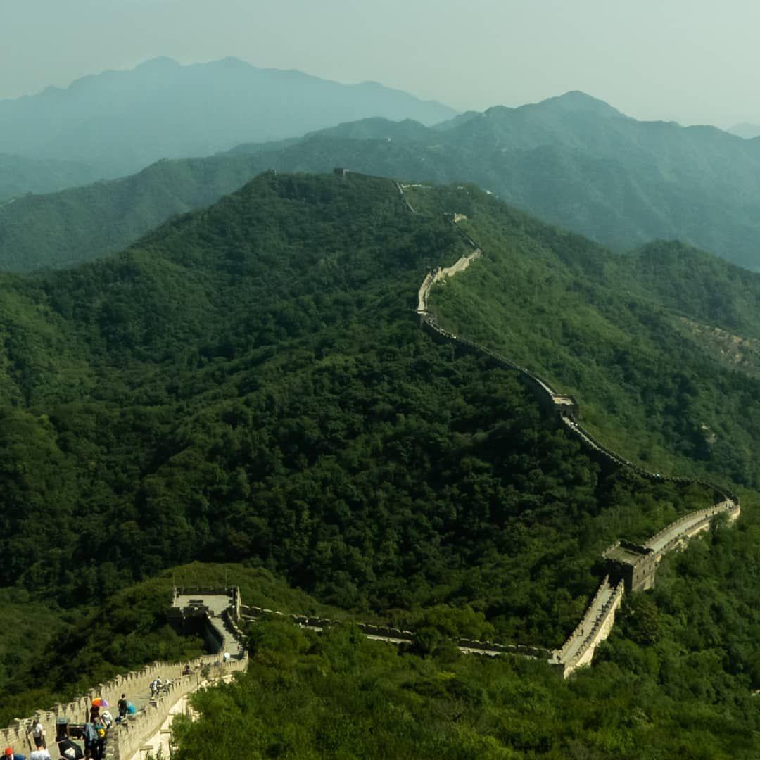 Muraille de Chine 🇨🇳🇨🇳 📷 📷 📷 📷 📷