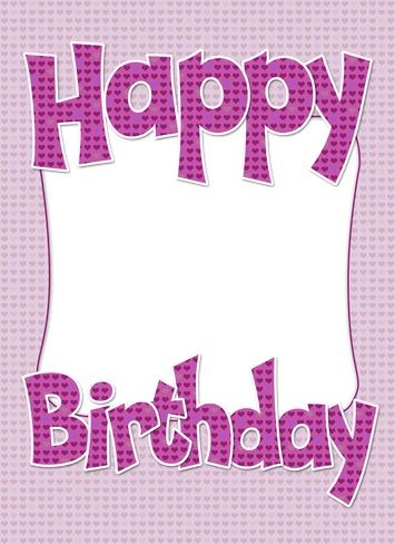 Image Result For Happy Birthday Cards With Names Birthday Cakes