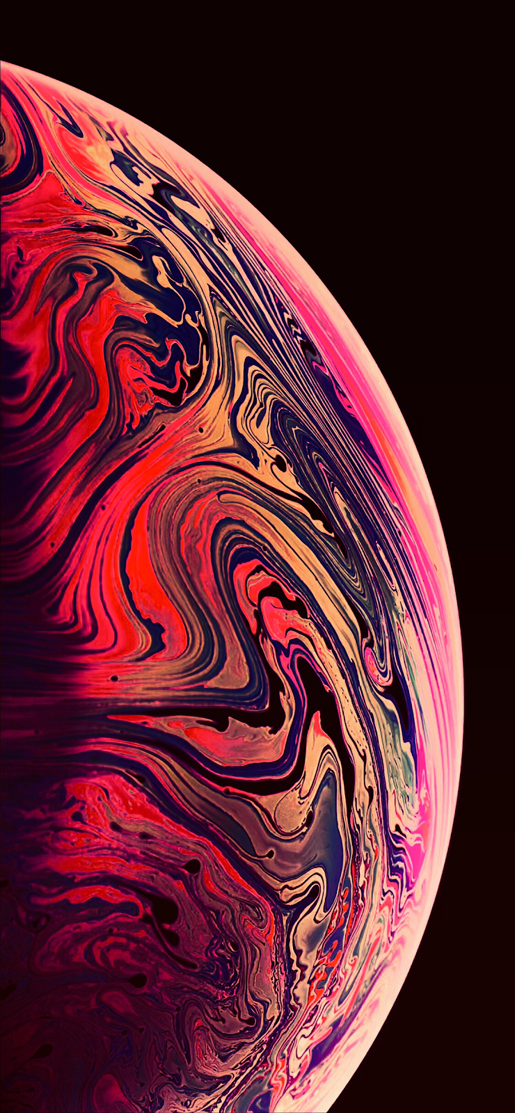 iPhone XS MAX Gradient Modd Wallpapers by AR72014 (2