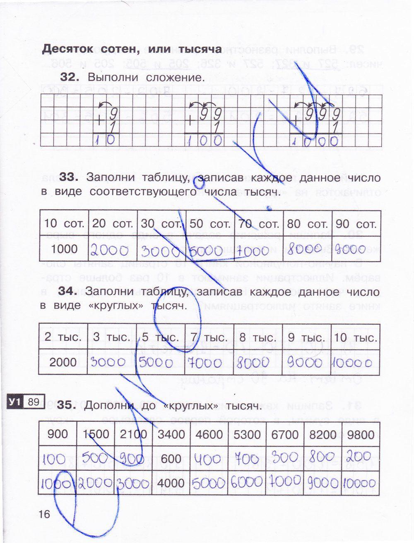 Решебник по математике 3 1 часть захарова юдина