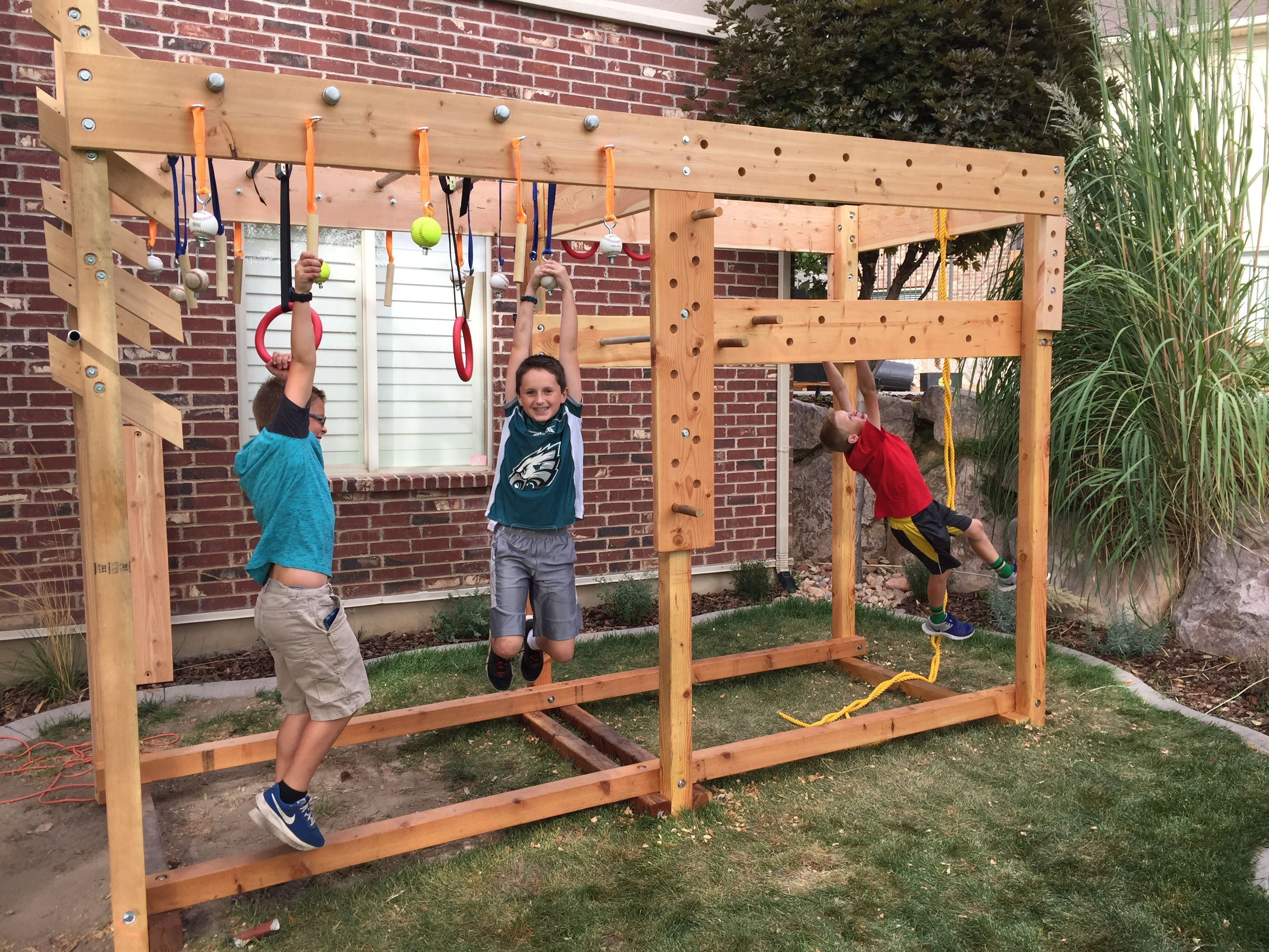American Ninja Warrior Playground
