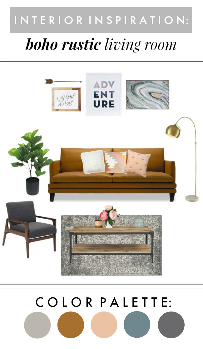 Creative Living Rooms For Style Inspiration Palette: Interior Inspiration: Boho Modern Living Room