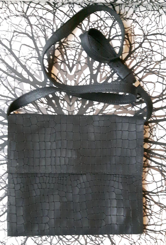 Little Bag in black door Spoor68 op Etsy