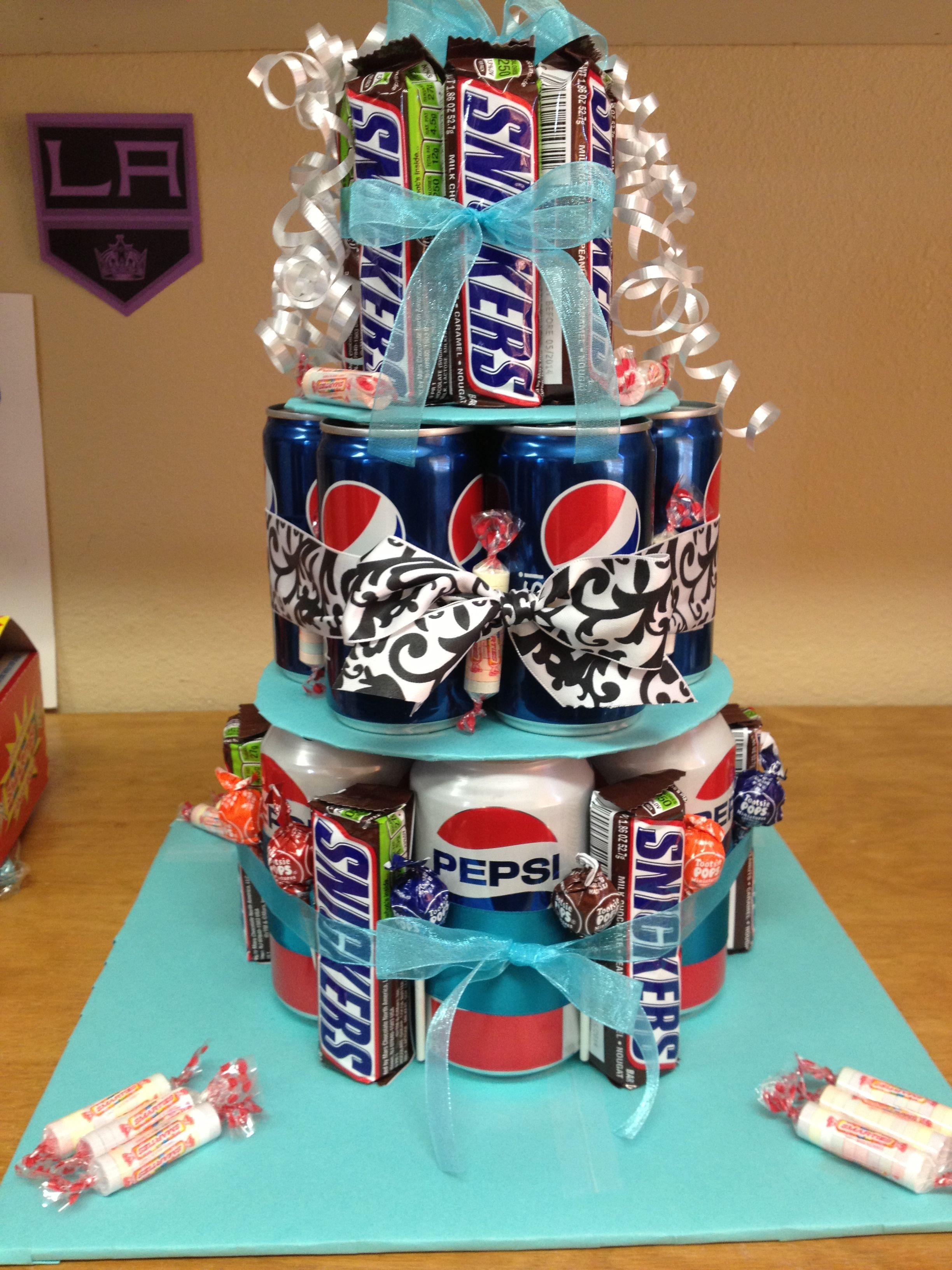 Candy Soda Cake For Teen Girl