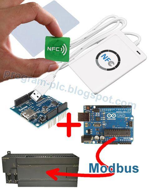 ACR122U USB Near Field Communication (NFC), Arduino, Siemens