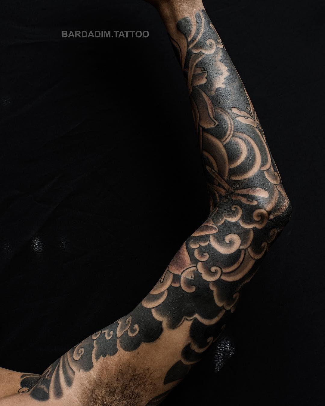 Japanese Sleeve Tattoo Dark Skin Tattoo Japanese Sleeve Tattoos Sleeve Tattoos